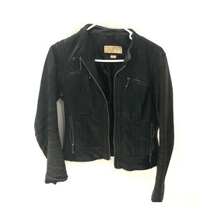 Size small leather Michael Kors leather jacket